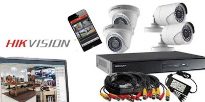 CCTV training with AHD camera, DVR and remote view