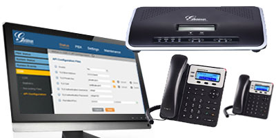 IP voice and VOIP training on Grandstream IP PBX installation in Lagos