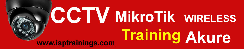 CCTV, Mikrotik, Cisco, telecom, wireless and network training in Akure