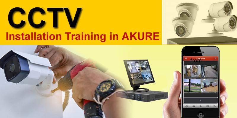 CCTV installation training in Akure Ondo FUTA